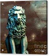 Leo Celestial Acrylic Print