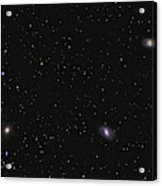 Leo I Galaxy Cluster Showing Messier Acrylic Print