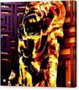 Leo The Lion Acrylic Print