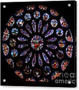 Leon Spain Cathedral Rosette Acrylic Print