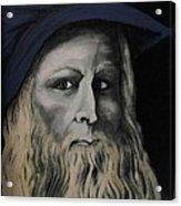 Leonardo Da Vince Acrylic Print