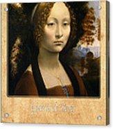 Leonardo Da Vinci 2 Acrylic Print