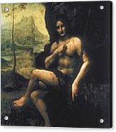 Leonardo Da Vinci, School Of First Half Acrylic Print by Everett