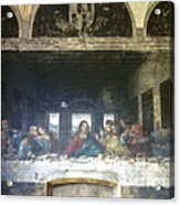 Leonardo Da Vinci's Last Supper Acrylic Print