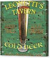 Leonetti's Tavern Acrylic Print by Debbie DeWitt