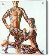 Leopard People Acrylic Print by Andrew Farley