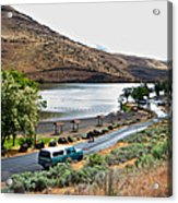 Lepage Rv Park On Columbia River-or Acrylic Print