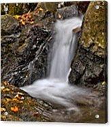 Lepetit Waterfall Acrylic Print by Susan Candelario