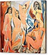 Les Demoiselles D'avignon Picasso Acrylic Print