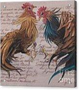 Les Deux Coqs Acrylic Print