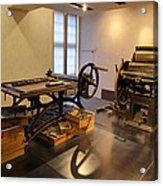 Les Invalides - Paris France - 011343 Acrylic Print