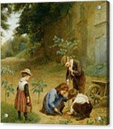 Les Jeunes Jardiniers Acrylic Print