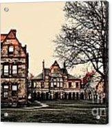 Lesley University-cambridge Boston Acrylic Print