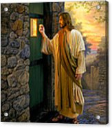 Let Him In Acrylic Print