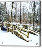 Let It Snow Let It Snow Acrylic Print
