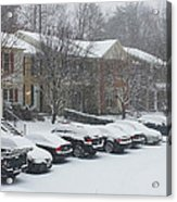 Let It Snow Snow Snow Acrylic Print