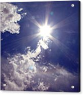 Let The Sun Shine In Acrylic Print by Andrea Dale