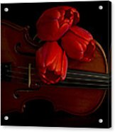 Let Us Make Beautiful Music Together Acrylic Print
