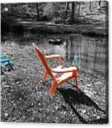 Let's Chill Acrylic Print