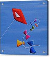 Let's Go Fly A Kite Acrylic Print by Cindy Thornton