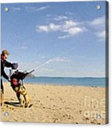 Let's Go Fly A Kite Acrylic Print