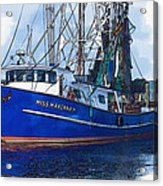 Let's Go Shrimping Acrylic Print