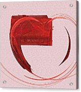 Letter From My Heart Fine Fractal Art Acrylic Print