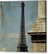 Letter From Paris Acrylic Print