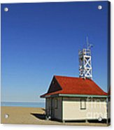 Leuty Lifeguard Station In Toronto Acrylic Print