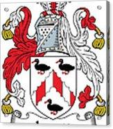 Levett Coat Of Arms II Irish Acrylic Print