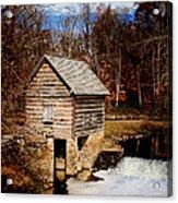Levi Jackson Park Water Mill Acrylic Print by Stephanie Frey
