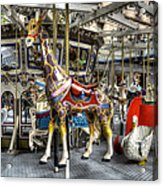 Levitating Giraffe Acrylic Print
