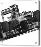 Lewis Hamilton Acrylic Print by James Wing