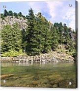 Lewis River Landscape Acrylic Print