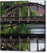 Lewiston Canal Bridge Acrylic Print
