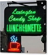 Lexington Candy Shop Acrylic Print