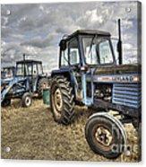 Leyland Tractors  Acrylic Print