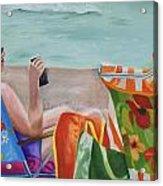 Ladies' Beach Retreat Acrylic Print
