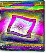Lgbtq Free And Unframed  V.3 Acrylic Print