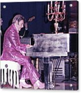 Liberace Piano Candelabra 1970 - We Will Be Seeing You Lee Liberace Acrylic Print