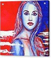 Liberty American Girl Acrylic Print
