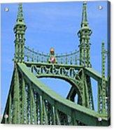 Liberty Bridge Budapest Acrylic Print