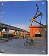 Liberty Bridge Acrylic Print