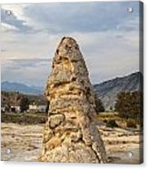 Liberty Cap In Yellowstone Acrylic Print