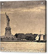 Liberty Enlightening The World Acrylic Print
