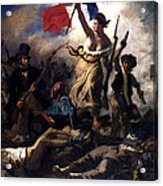 Liberty Leading The People During The French Revolution Acrylic Print