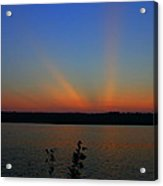 Liberty Sunset At West Thompson Lake  Acrylic Print