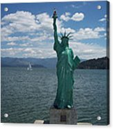Liberty On Lake Pend Oreille  Acrylic Print