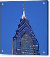 Liberty Place Skyscrapper At Dusk Acrylic Print