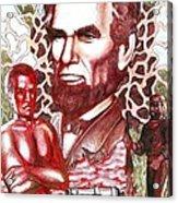 Liberty Red Acrylic Print